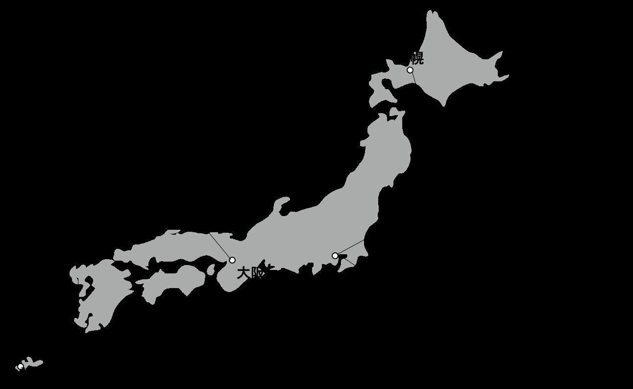 民泊カンファレンス地図