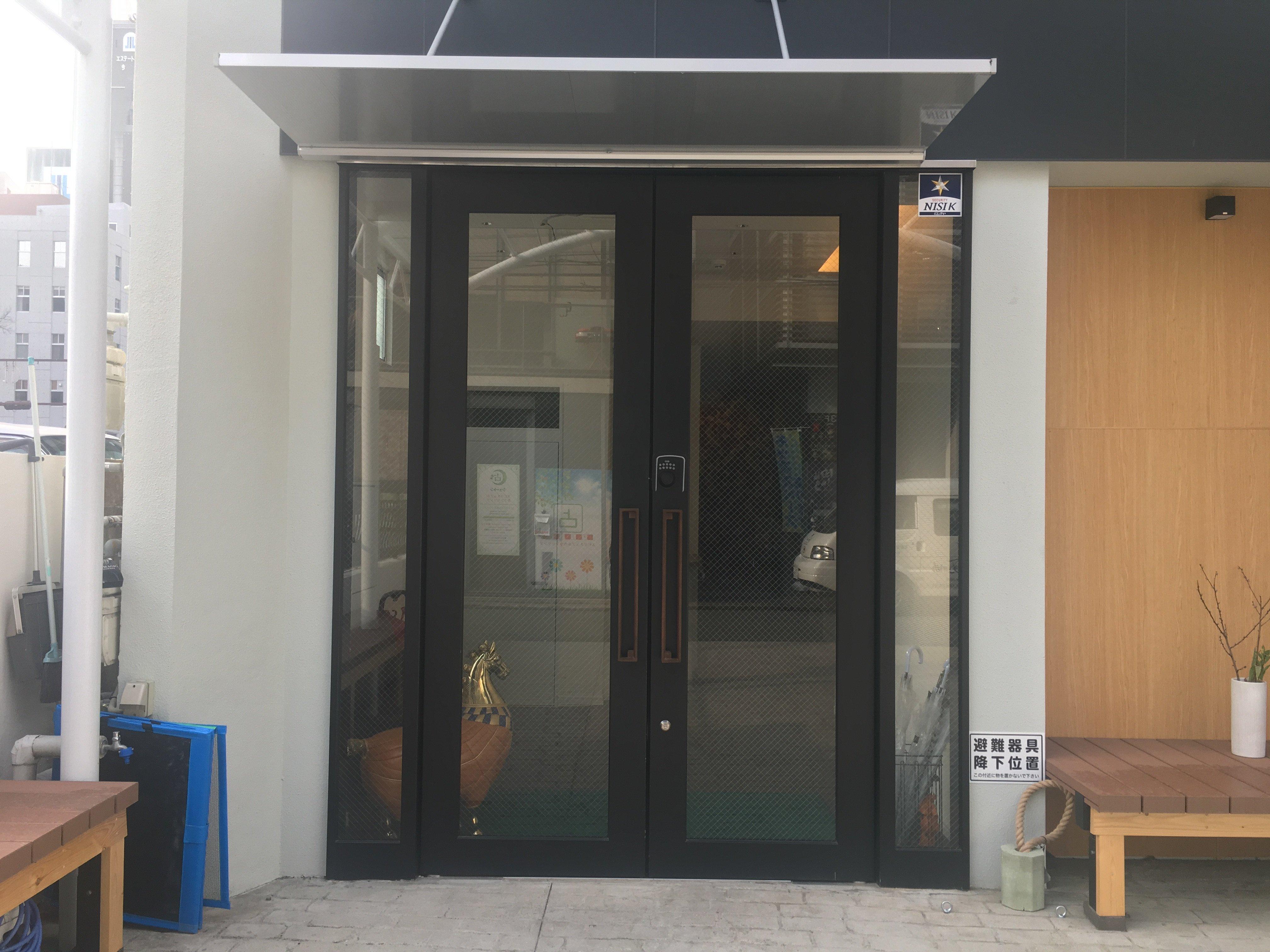 集合玄関の電子錠