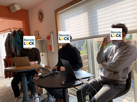 RemoteLOCK, オフサイトミーティング, スピーカー