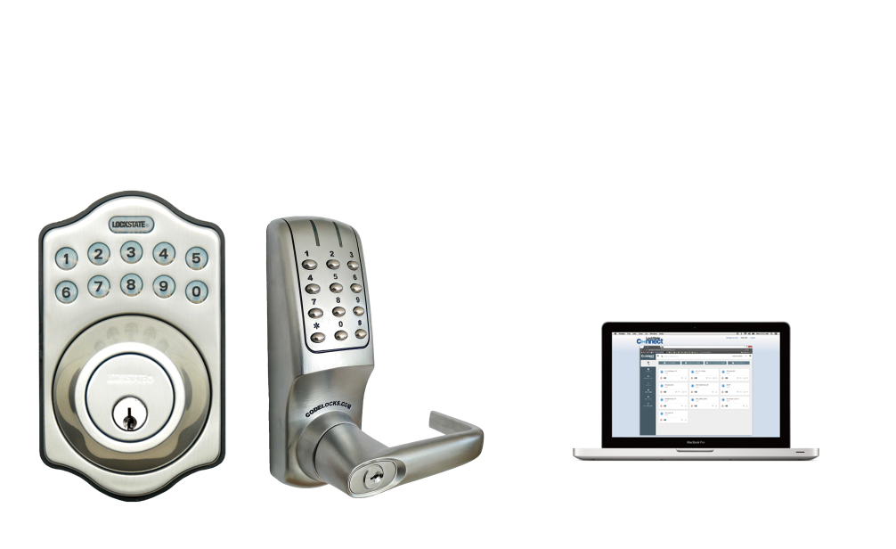 smartlock  managed by cloud