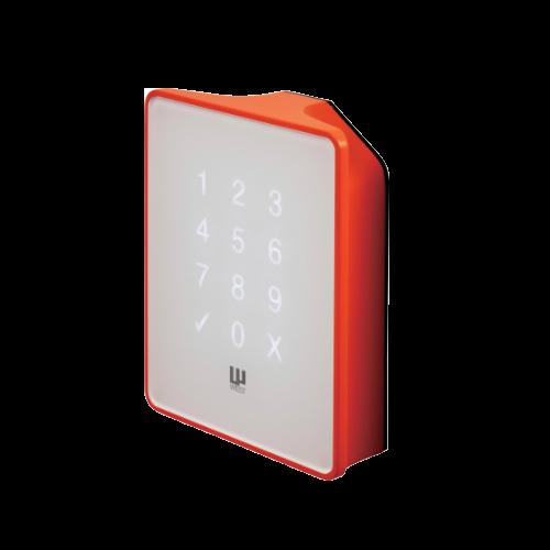フラットパネルのスマートロック/電気錠 RemoteLOCK 8j(オレンジ)